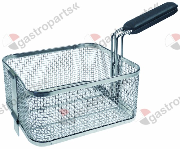 970.778, fryer basket W1 210mm L1 240mm H1 115mm chrome-plated steel