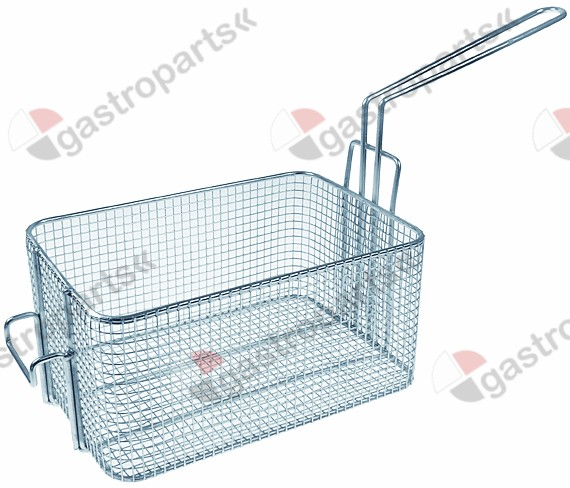970.785, fryer basket W1 200mm L1 290mm H1 145mm steel