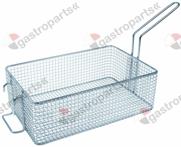 970.787, fryer basket W1 190mm L1 300mm H1 100mm steel