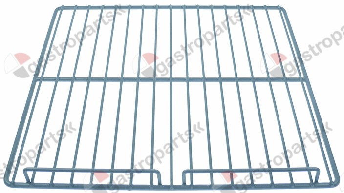 970.807, shelf W 530mm L 500mm H 40mm plastic-coated steel wire gauge frame 8,8mm