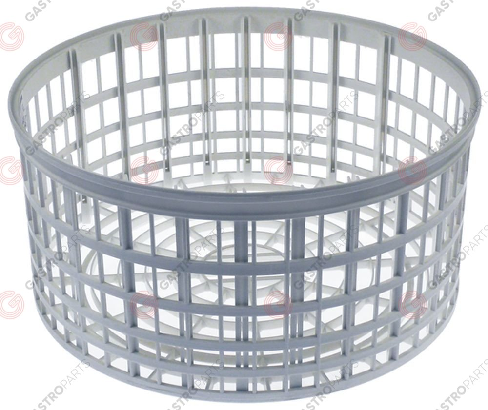 970.812, mix basket ED ø 367mm H 173mm seat ø 280mm mesh type wide-meshed/plastic