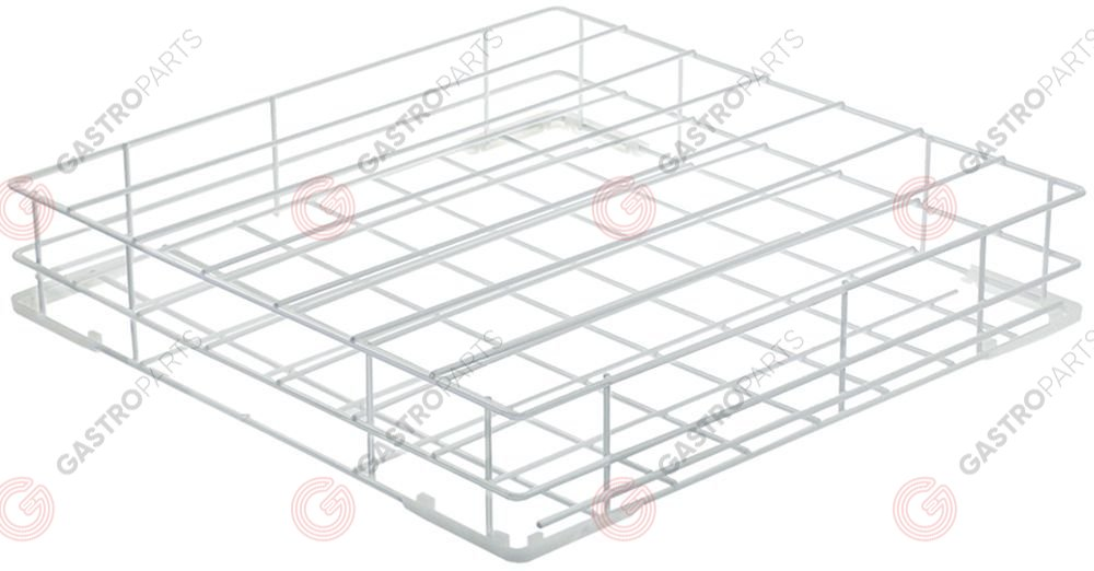 970.815, tray rack L 550mm W 550mm H 105mm tablets 7