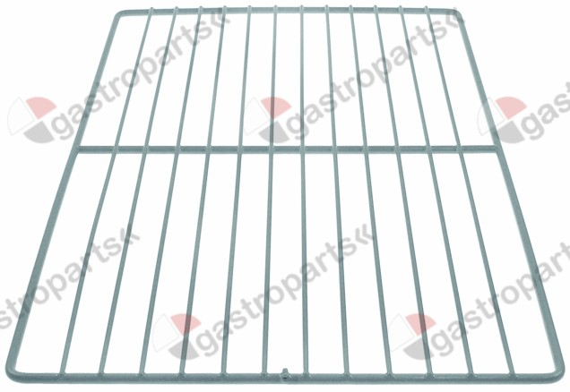 970.834, shelf W 333mm L 530mm H 10mm plastic-coated steel wire gauge frame 6,9mm