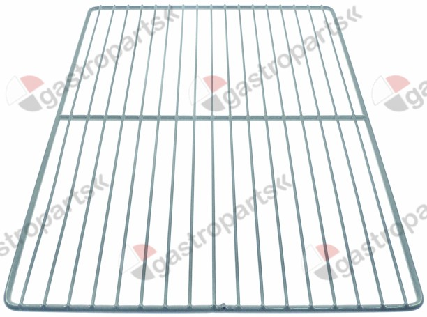 970.835, shelf W 640mm L 410mm H 12mm plastic-coated steel wire gauge frame 8,5mm