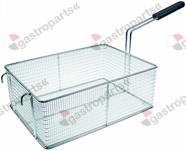 970.850, fryer basket W1 280mm L1 395mm H1 145mm plastic
