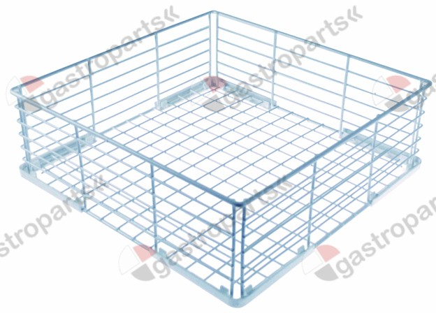 971.001, mix basket L 350mm W 350mm H 120mm mesh type wide-meshed
