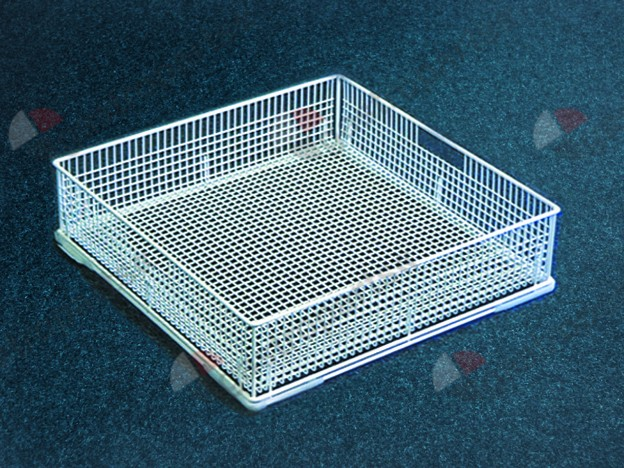 971.023, mix basket L 400mm W 400mm H 130mm mesh type close-meshed
