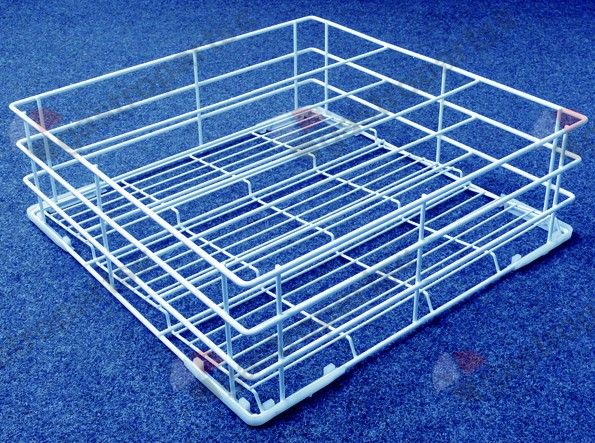 971.052, glass basket L 470mm W 470mm H 150mm number of rows 3 rows spacing 145mm