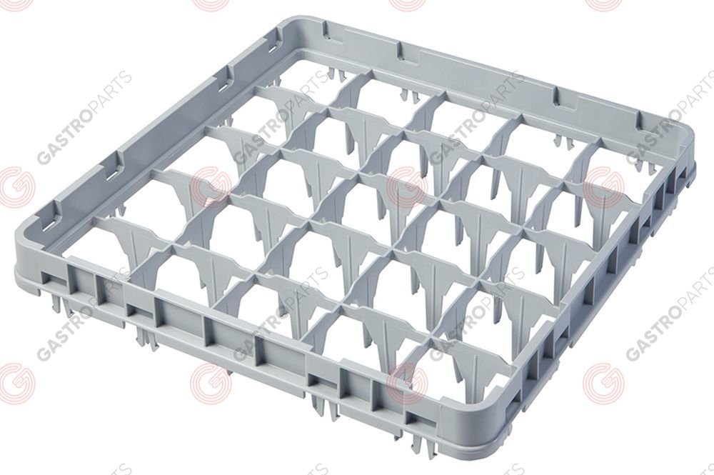 972.109, High extension for basket CAMBRO for glass basket L 500mm W 500mm H 51mm usable height 41mm