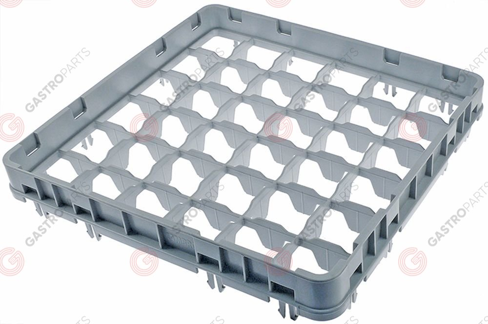 972.115, High extension for basket CAMBRO for glass basket L 500mm W 500mm H 51mm usable height 41mm