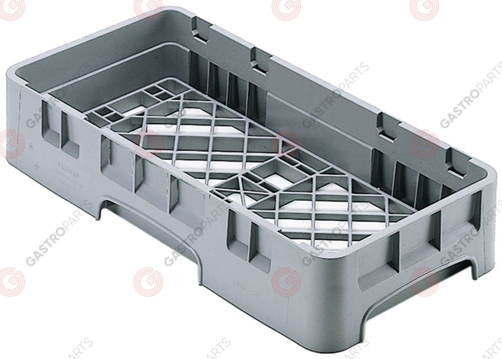 972.144, Mix basket CAMBRO L 250mm W 500mm H 101mm usable height 83mm mesh type wide-meshed