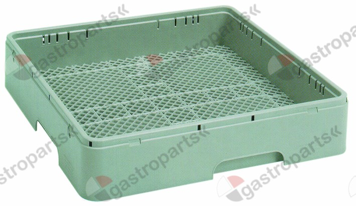 976.002, Replaced by 972101 / cutlery basket L 500mm W 500mm H 116mmusable height 70mm mesh type close-meshed