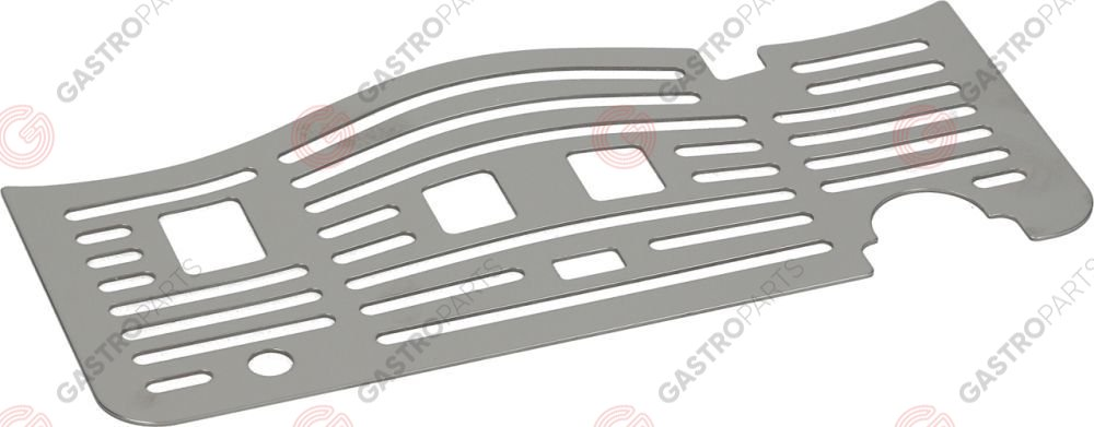 LF1215007, Cups support grid of stainless steel