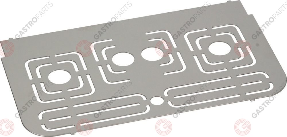 LF1215011, Cups support grid of stainless steel